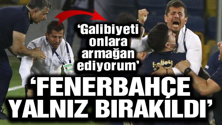 Emre Belözoğlu: 'Fenerbahçe yıllarca yalnız bırakıldı'