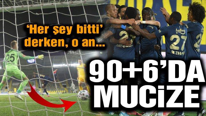 Ankara'da 90+6 mucizesi! Fenerbahçe'nin geri dönüşü…