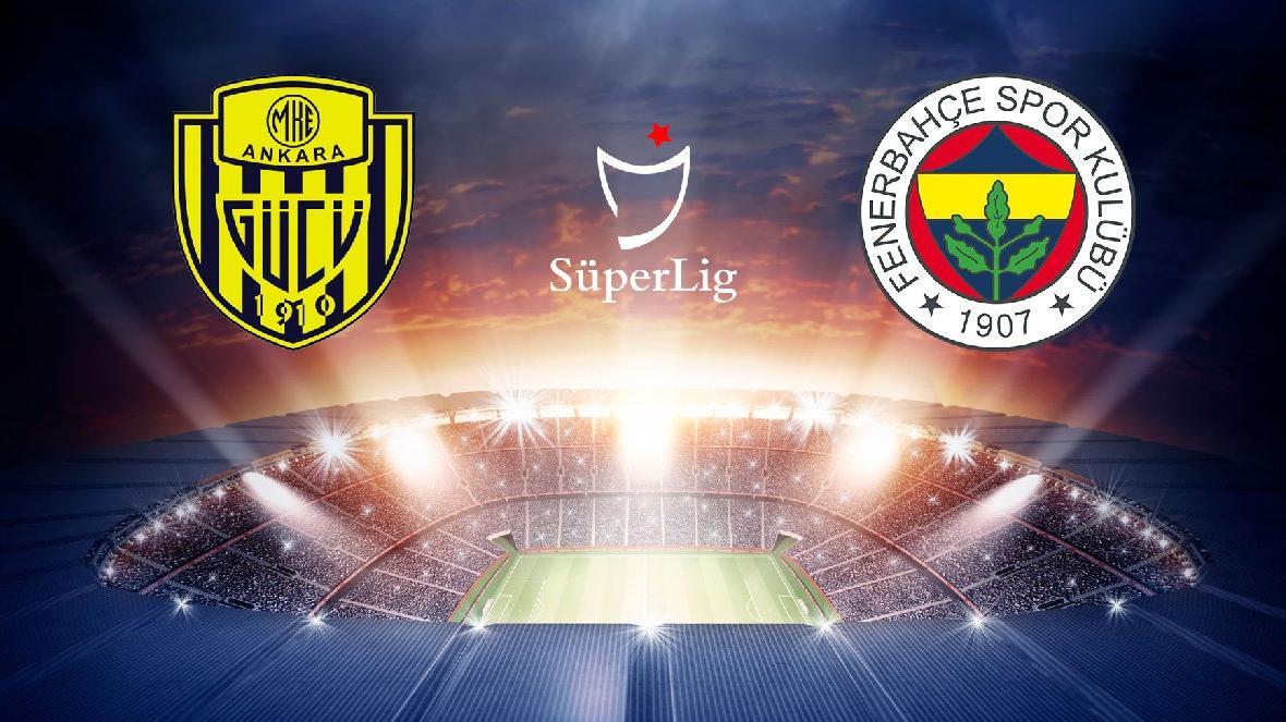 Ankaragücü-Fenerbahçe maçı canlı yayın | Süper Lig 40. hafta