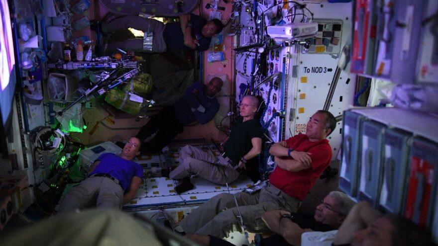 Fransız astronot ISS'ten paylaştı: Uzayda boş zaman böyle geçiyor