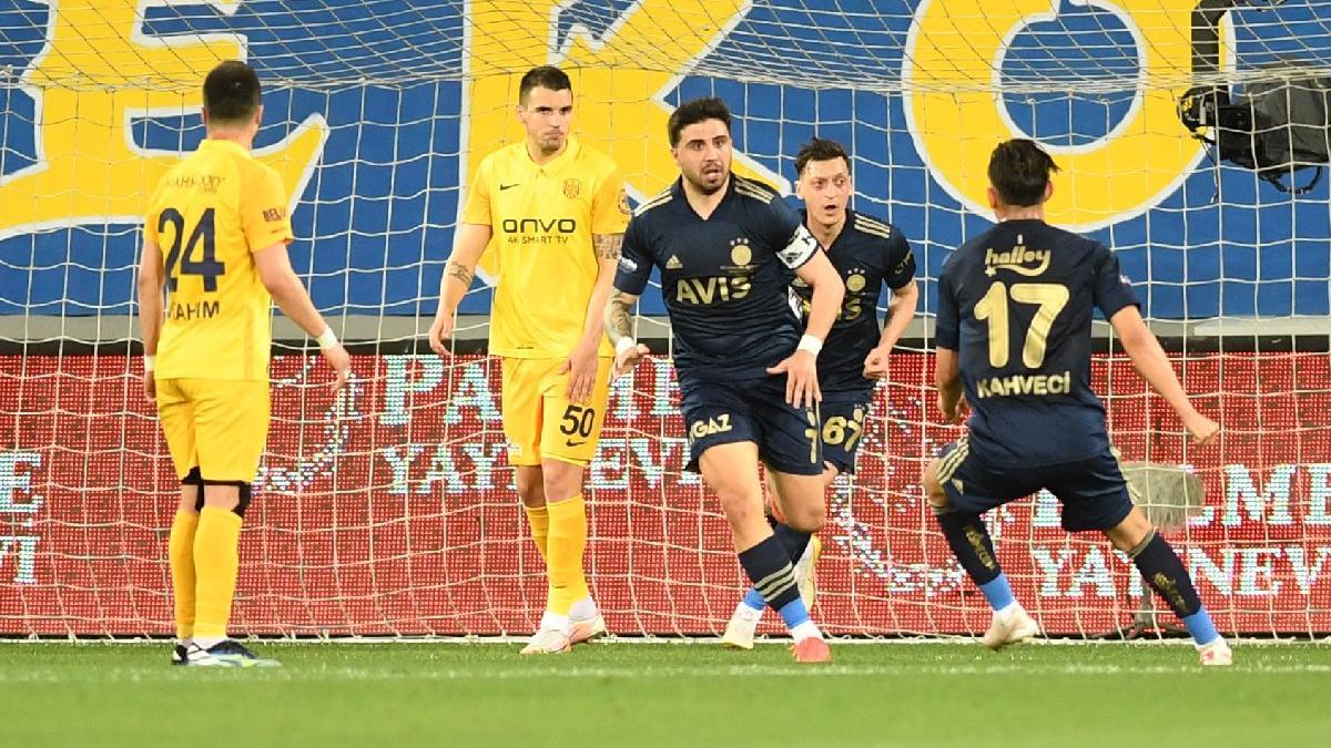 Ankara'da 90+6 mucizesi! Fenerbahçe'nin geri dönüşü...