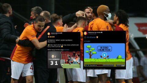 Galatasaray'dan Beşiktaş'a Twitter'da bombardıman: 'Sizin için hazırladık...'