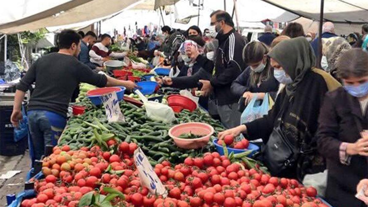 İstanbul'da 438 pazar kuruldu