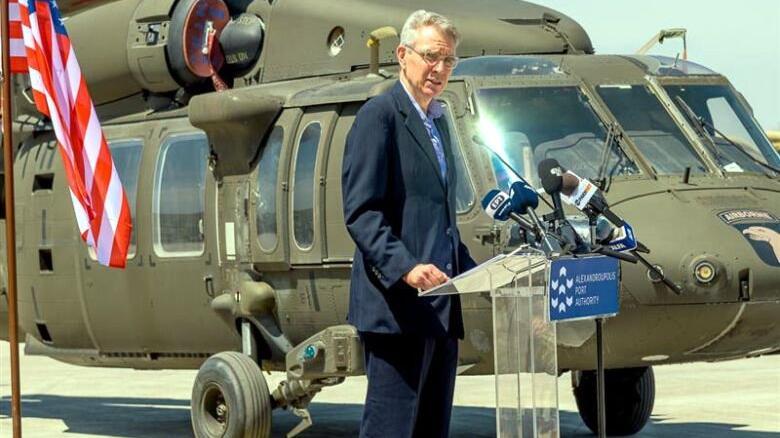 ABD Dedeağaç'a silah yığmaya devam ediyor... Büyükelçi Pyatt: ABD Karadeniz ve Balkanlar'da varlığını sürdürecek