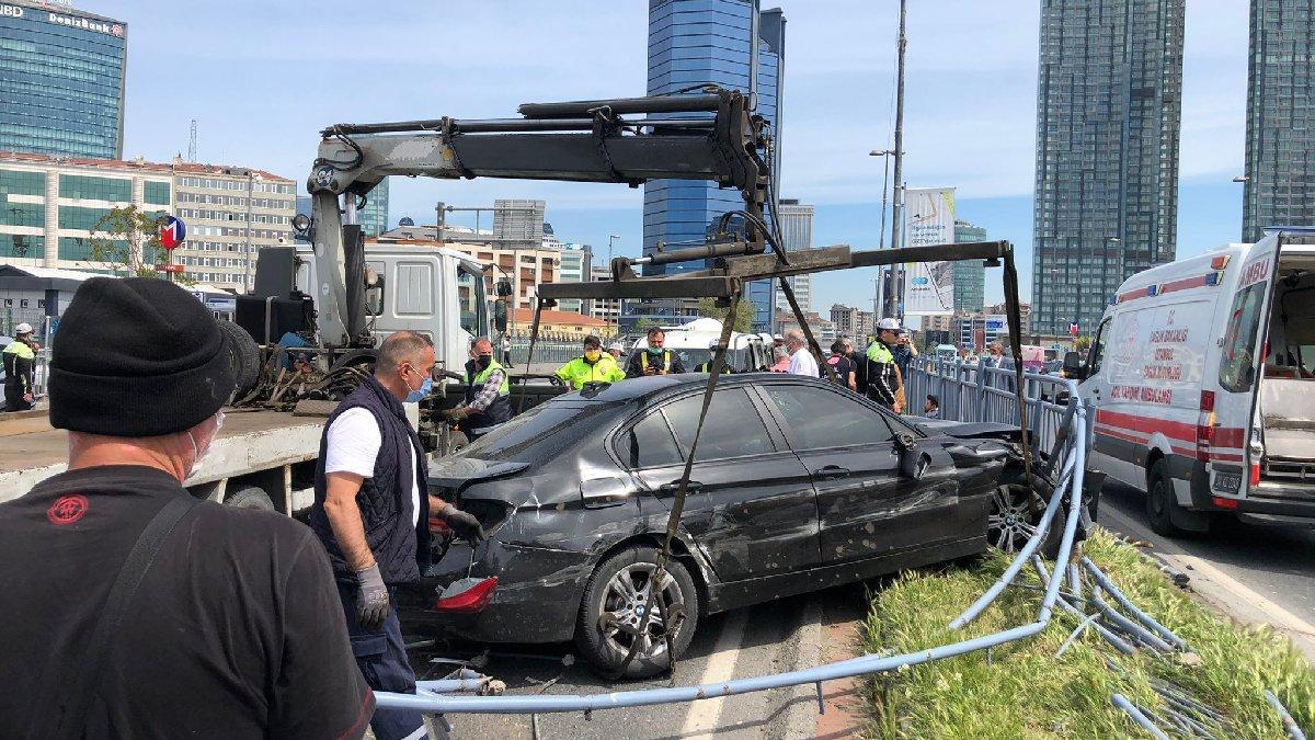 Trafik canavarının kısıtlama mesaisi: 11 araç hasar gördü