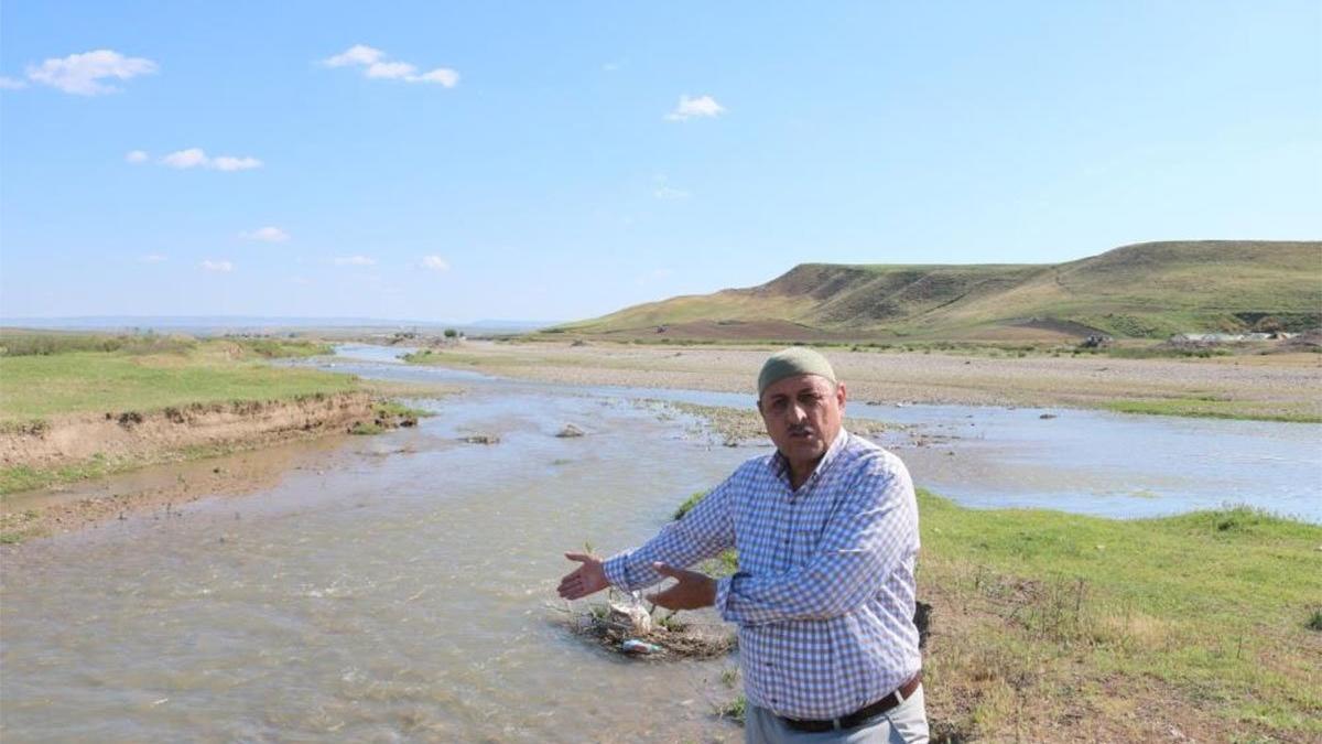 20 bin dönüm arazi susuz kaldı