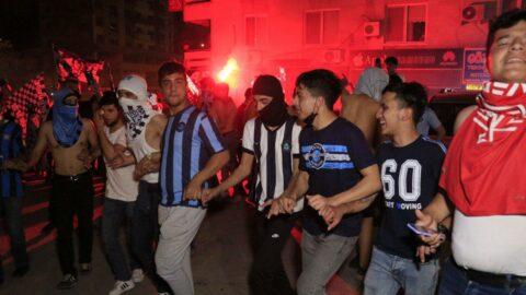Adana Demirspor taraftarı karantinayı rafa kaldırdı!