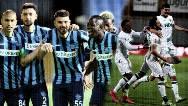 Adana Demirspor ve Giresunspor Süper Lig'e, Samsunspor Play-Off'a!