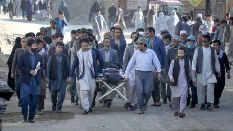 Afganistan'daki patlamada ölü sayısı yükseldi
