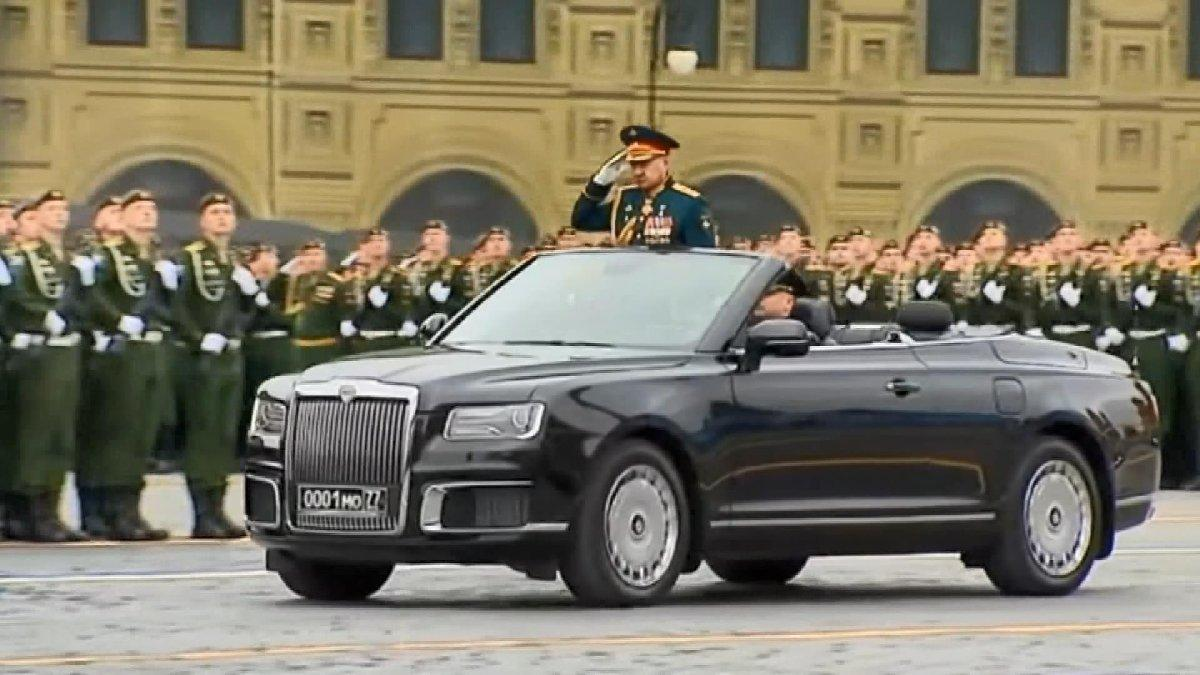 Rusya'da zafer günü kutlaması gerçekleşti