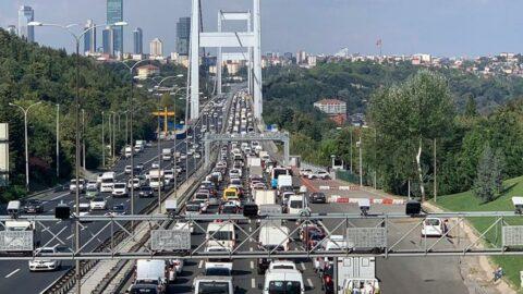 Yasaklı günlerde köprü geçişi bedava