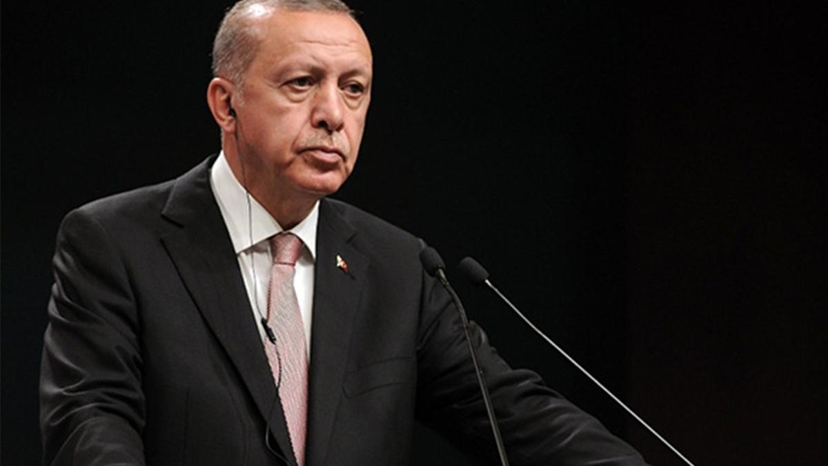 Cumhurbaşkanı Erdoğan'dan İsrail saldırılarıyla ilgili açıklama