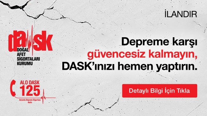 Dask Manşet Advertorial 11 Mayıs'21