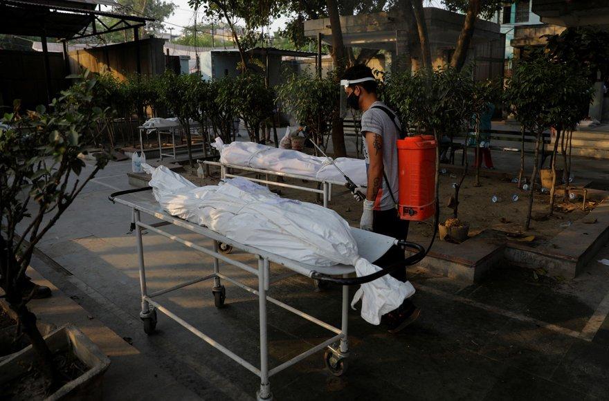 Hayatta kalma şansı yüzde 50… Hindistan'da coronayla birlikte patlama yaptı 2