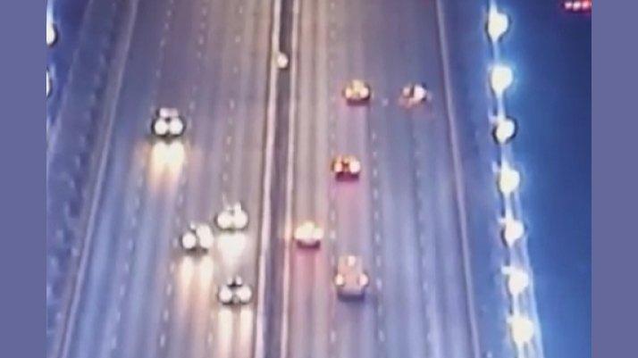 FSM'de 22 yaşındaki motosikletlinin öldüğü kaza kamerada
