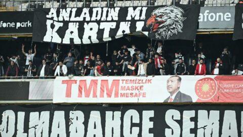 Beşiktaş-Karagümrük maçına taraftar alındı! Kapanma umursanmadı...