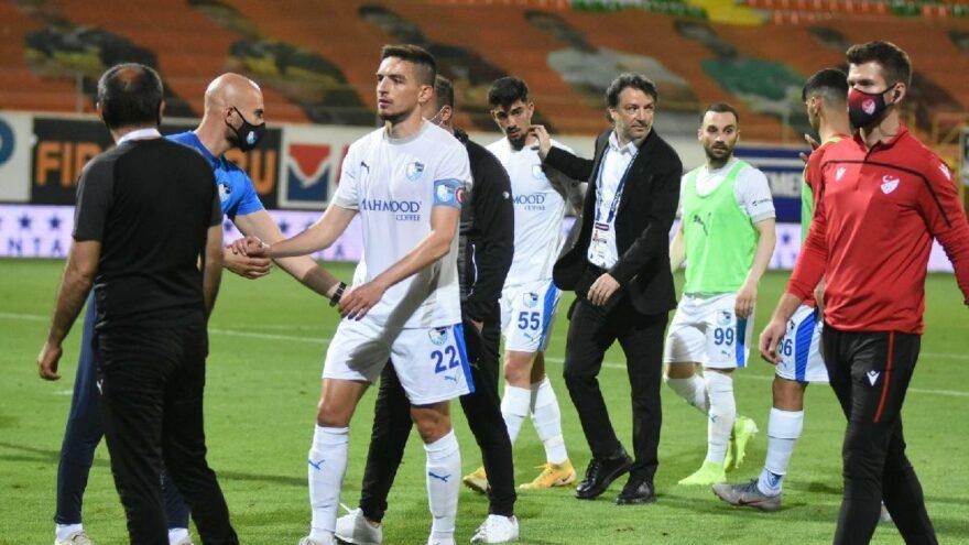 Erzurumspor'un galibiyeti ligde kalmaya yetmedi! Dadaşlar küme düştü…