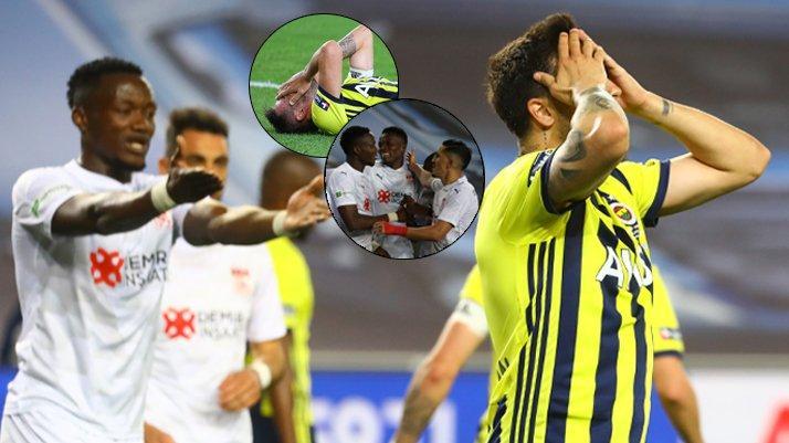 Sivas'tan sert çelme! Fenerbahçe tarihi fırsatı tepti: Hüsranköy!