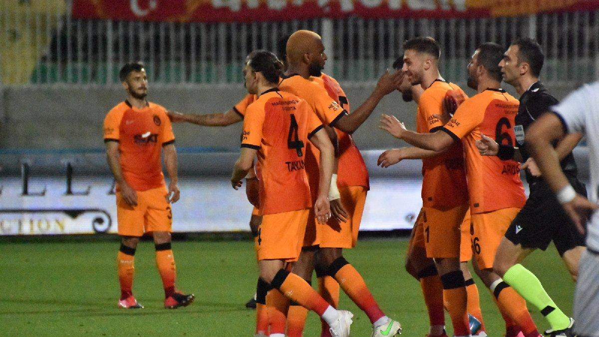 Denizlispor Galatasaray maçında beş gol... Aslan zirveye ortak oldu