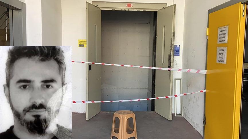 Asansör boşluğuna düşen aşçı hayatını kaybetti