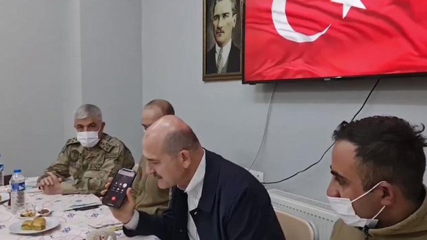 Cumhurbaşkanı Erdoğan, telefonla Hakkari'deki askerlerin bayramını kutladı