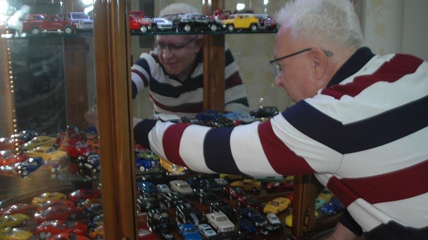 Maket araba koleksiyonuna 50 bin TL harcadı