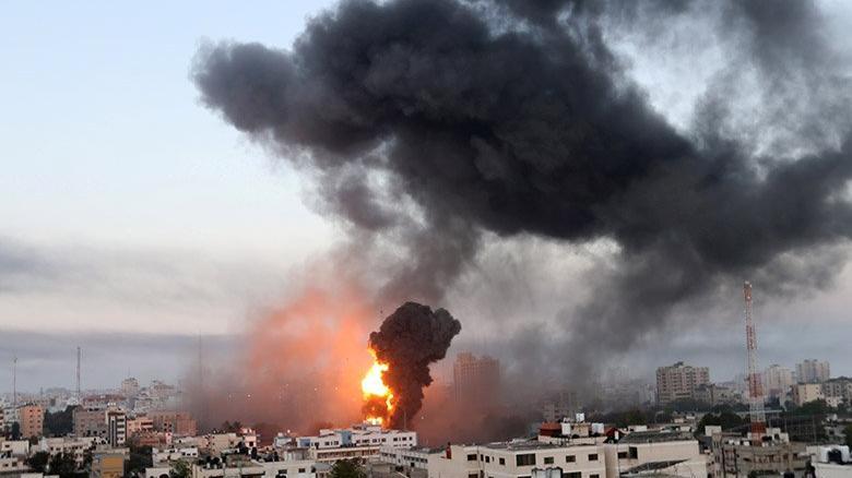 İsrail-Filistin krizi büyüyor! Gazze'den İsrail'e karşılık...
