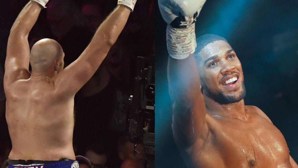Anthony Joshua ve Tyson Fury anlaştı... 175 milyon Euro'luk maç