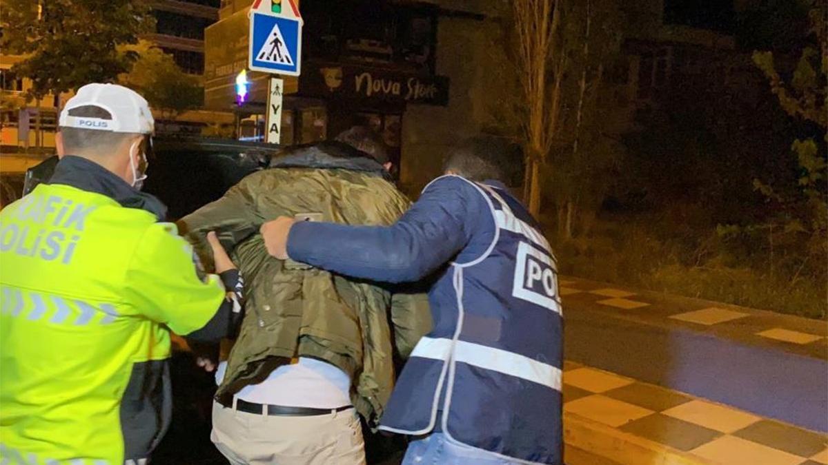 Sevgilisini kaçırmak isterken yakalandı! Polisi polise şikayet etti