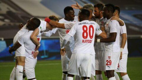 Sivasspor'un Avrupa inadı