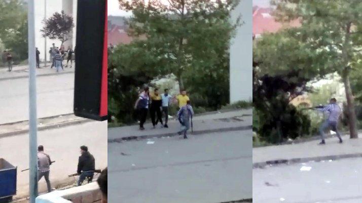 Tekirdağ'da pompalı tüfekli çatışma