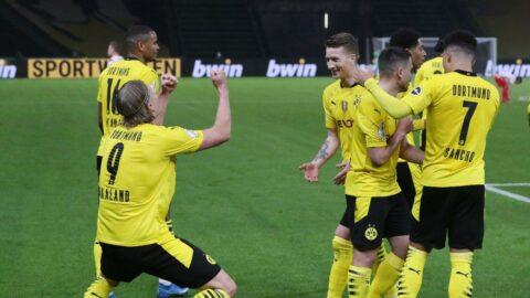Almanya Kupası şampiyonu Dortmund