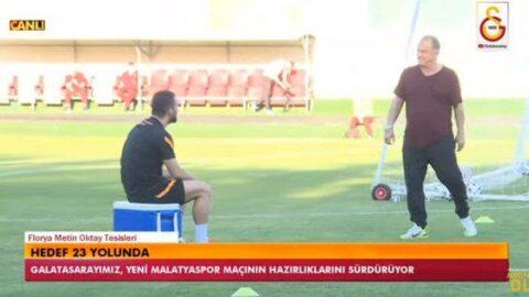 Arda Turan, Fatih Terim'e takıldı!