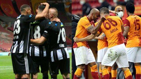 Beşiktaş ve Galatasaray kafa kafaya... Tarihi sezona, tarihi son