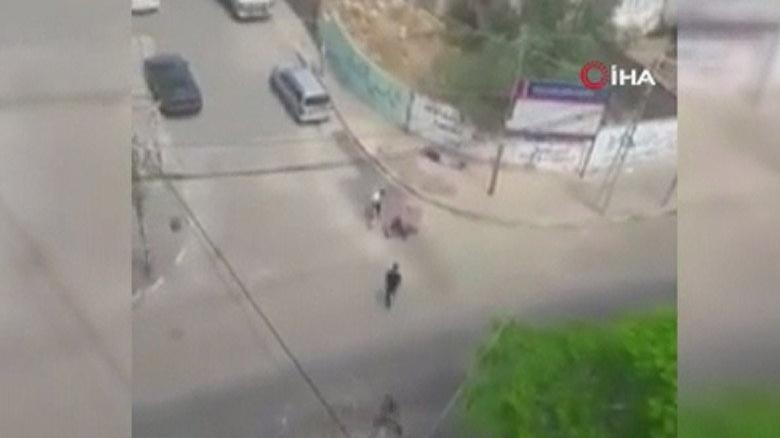 İsrail yaralılara yardım eden sivilleri vurdu