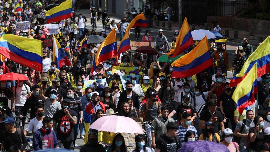 Şiddetli gösterilerin sürdüğü Kolombiya'da yeni gelişme! Bakan istifa etti