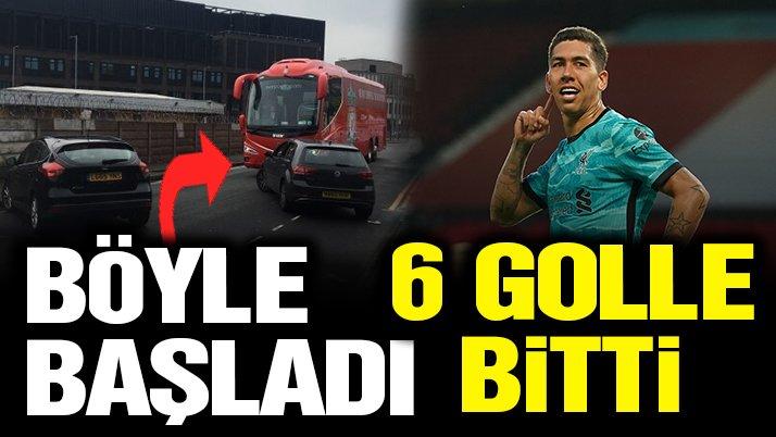Taraftar olaylarının damga vurduğu Manchester United-Liverpool maçında 6 gol!
