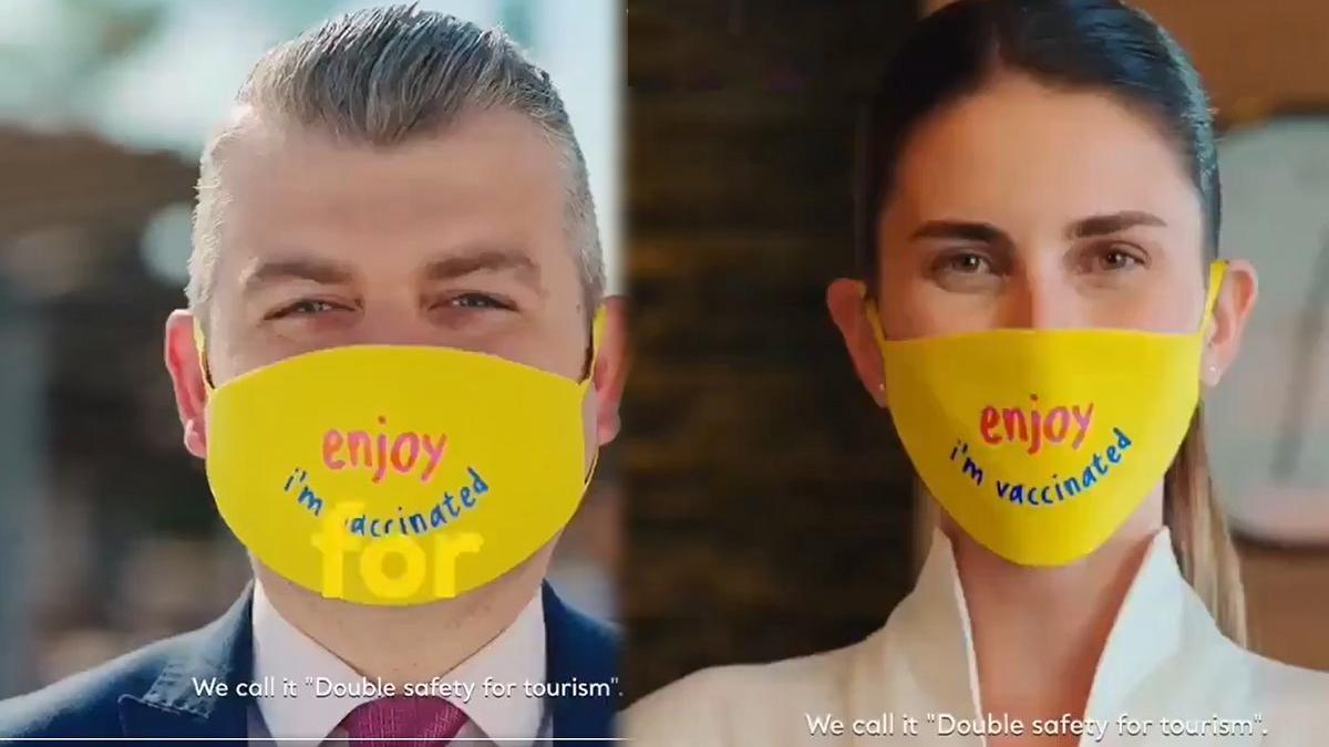 Maske videosuna sektörden sert tepki geldi