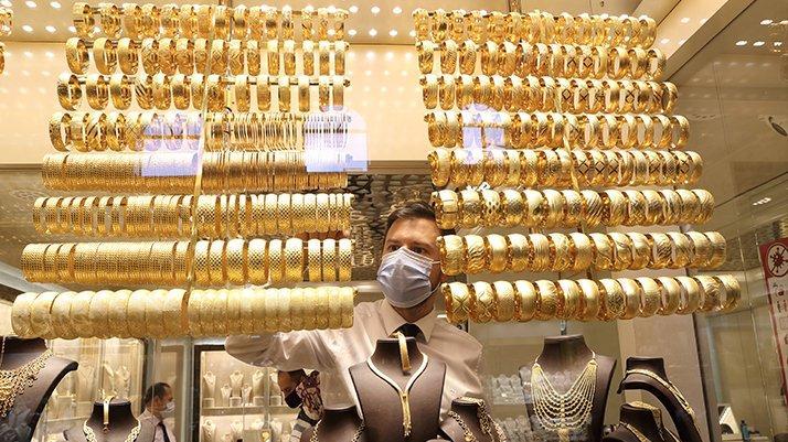 Gram altın 6 ay sonra yeniden 500 TL'yi gördü