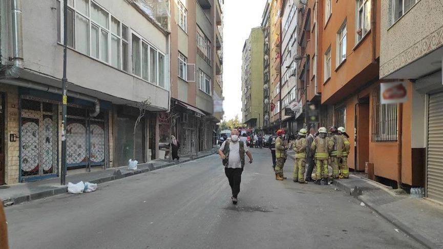 Şişli'de 5 katlı binada çökme tehlikesi! 3 bina boşaltıldı