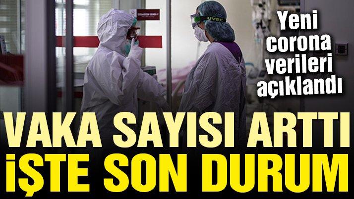Sağlık Bakanlığı güncel corona virüsü verilerini açıkladı! İşte 15 Mayıs tablosu