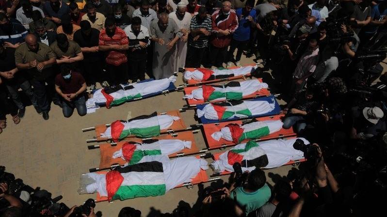 İsrail'in saldırısında aynı aileden 8'i çocuk 10 kişi öldü