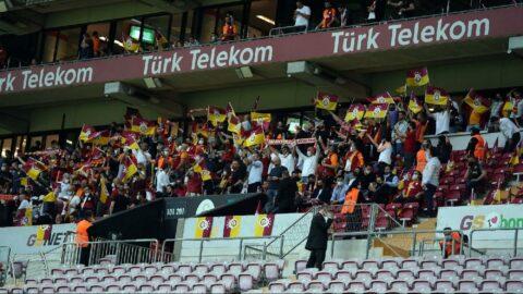 Galatasaray-Yeni Malatyaspor maçında 1000'i aşkın taraftar