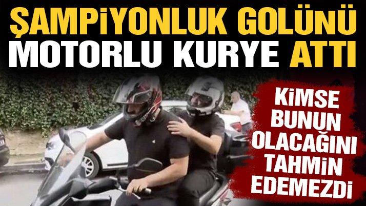 Beşiktaş'ın şampiyonluk golü motorlu kuryeden geldi! Rachid Ghezzal sezona damga vurdu