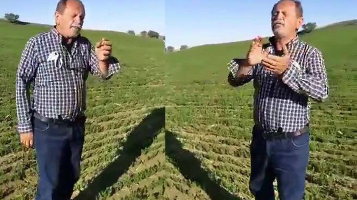 Mansur Yavaş'ın destekte bulunduğu çiftçi: Umudumuz sensin