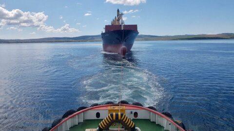 Gelibolu açıklarındakonteyner gemisi hareketliliği