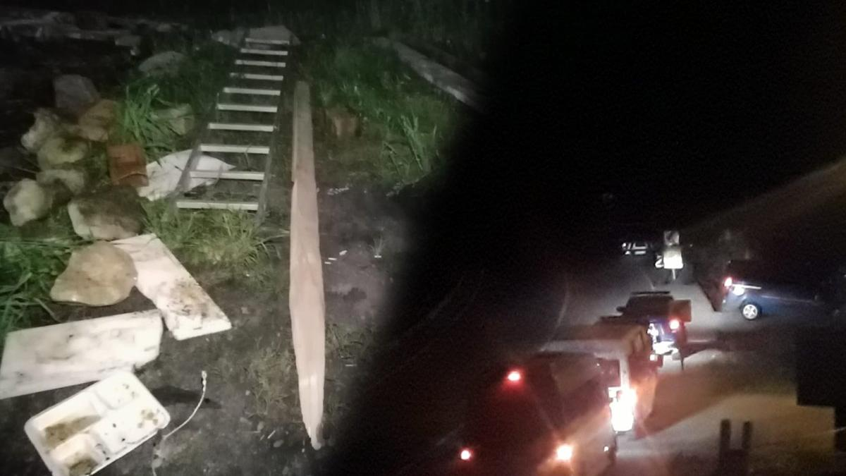 İşkencedere'de gece yarısı çadır operasyonu