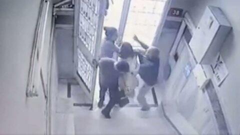 Tecavüz iddiasıyla darp edilen diş hekimini güvenlik kameraları kurtardı