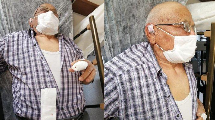 Cenazede ortalık karıştı: Sopa kırılana kadar dövdü