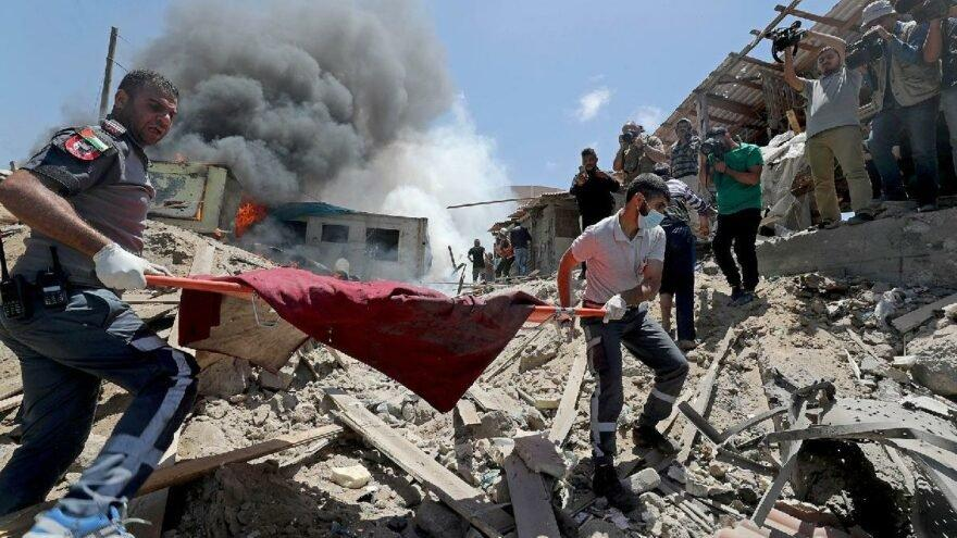 İsrail ve Filistinliler arasındaki çatışmalarda ikinci haftaya girildi